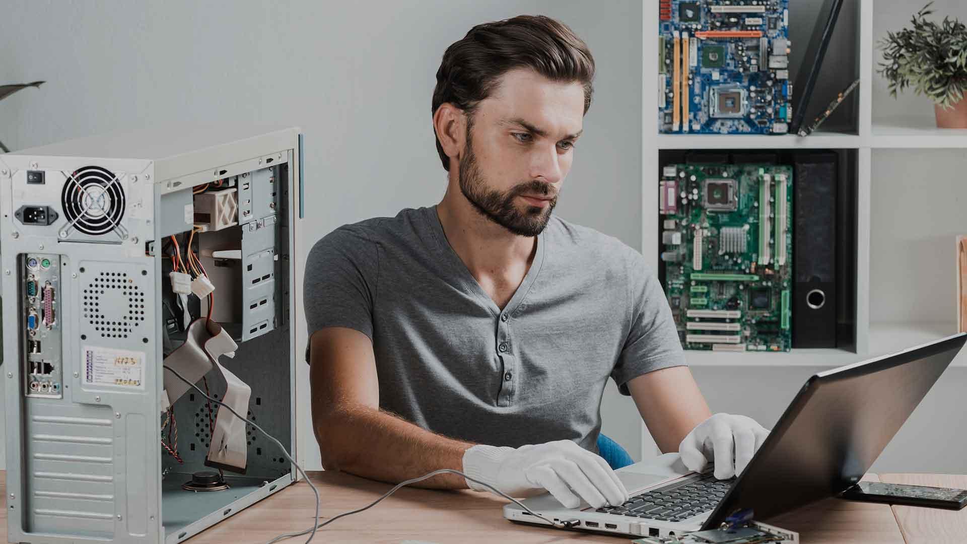 Empresa de mantenimiento de computadores